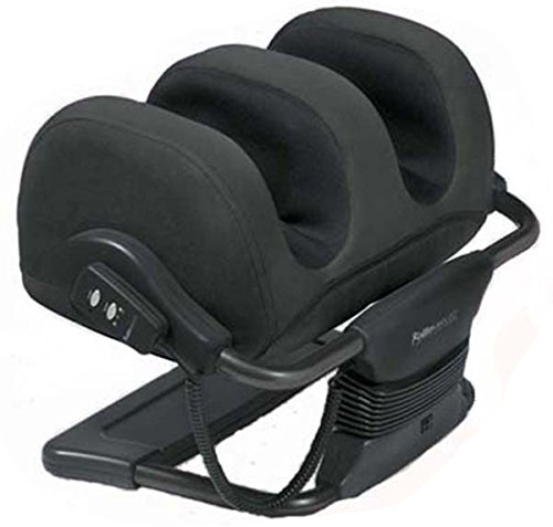 iJoy Faux Suede Black HT-980-900-002 Ottoman Massager - Massager Ottoman