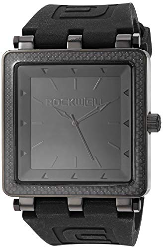 - Rockwell Time Automatic Leather Casual (Model: CF121) Watch, Black
