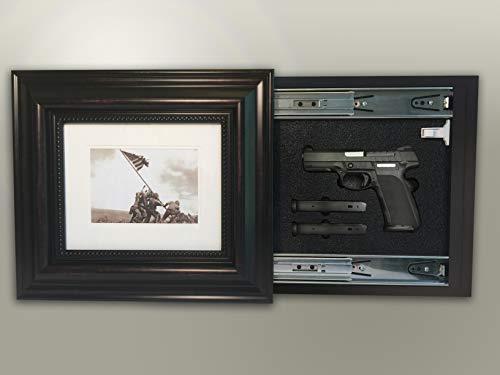 CRYSTAL L&D Hidden Storage Photo Frame Gun, Money, Documents Jewelry Magnetic Lock