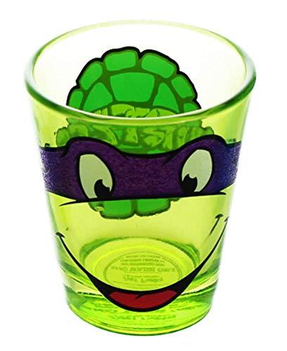 Teenage Mutant Ninja Turtles Donatello Glitter Shot Glass]()
