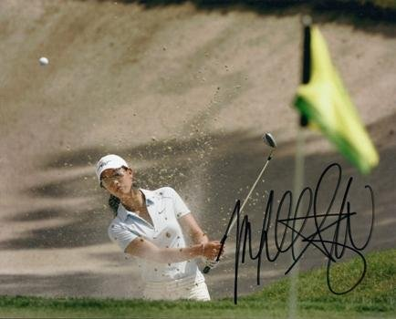 Michelle Wie Signed Photograph - 8x10 - PSA/DNA Certified - Autographed Golf (Golf Certified Autograph 8x10 Photo)