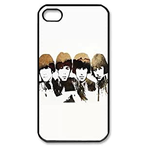 C-EUR Customized Print The Beatles Pattern Back Case for iPhone 4/4S