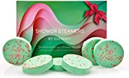 Cleverfy Aromatherapy Shower Steamers - Set of 6 Shower Bombs with Essential Oils for Relaxation and Nasal Con