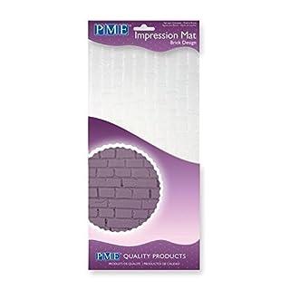 PME Brick Design, Impression Mat, 12 x 6-inch