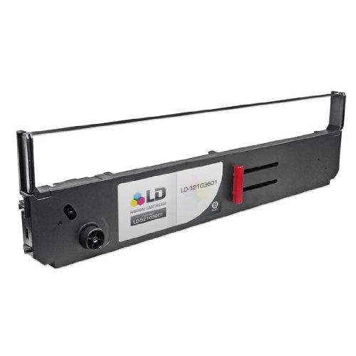 LD Okidata Compatible Replacement Black Printer Ribbon Cartridges - 52103601