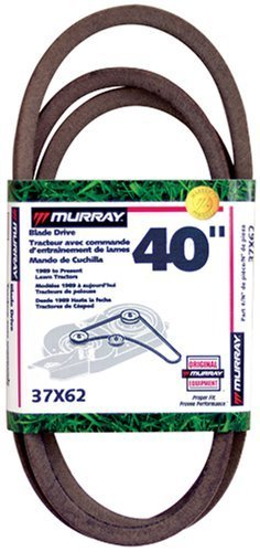 Murray 40 Lawn Mower Blade Belt '90-'97 37X62MA, Model: 37X62MA, Home/Garden & Outdoor ()