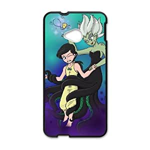 HTC One M7 Black phone case morgana little mermaid PLC6736063
