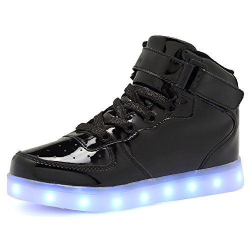 CIOR+Kids+Boy+and+Girl%27s+High+Top+Led+Sneakers+Light+Up+Flashing+Shoes%28Toddler%2FLittle+Kid%2FBig+Kid%29%2C105%2CL01%2C37