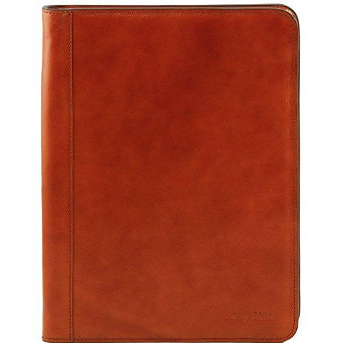 81412944 - TUSCANY LEATHER: Ottavio - Porte-document en cuir, miel