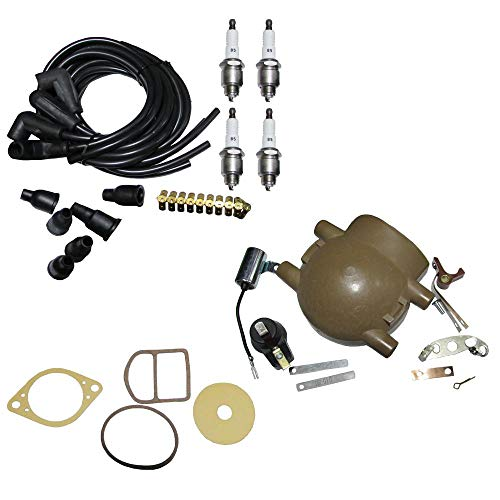 - Aftermarket Ignition Tune Up Kit for Ford 9N 2N & 8N Tractors with Front Mount Distributor