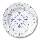 Royal Copenhagen 1101620 Blue Fluted Plain 7.5'' Salad / Dessert Plate