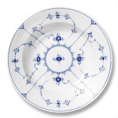 Royal Copenhagen 1101620 Blue Fluted Plain 7.5'' Salad / Dessert Plate by Royal Copenhagen