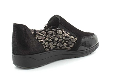 ara Women's 12-46309-06 0 Loafer Flats Black w9HTG