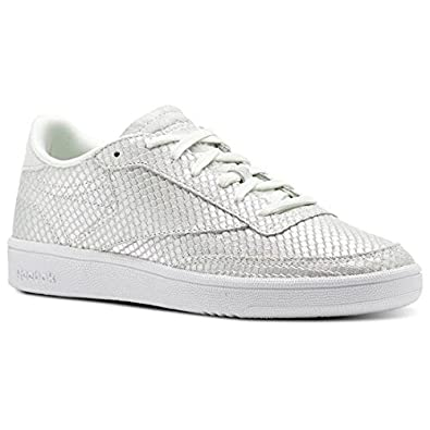 REEBOK CL LEATHER TEXTURAL Cuir Pour Femme, Sneakers