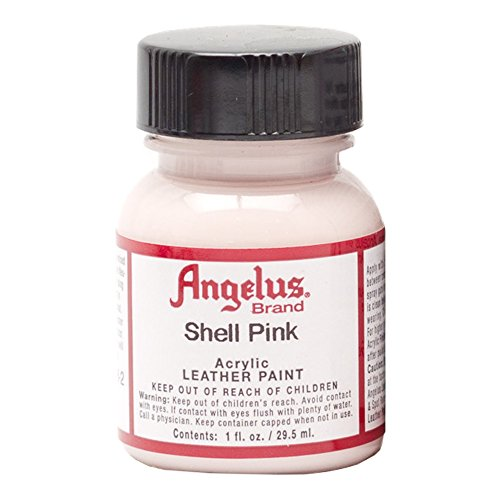 Angelus Leather Paint Shell Pink