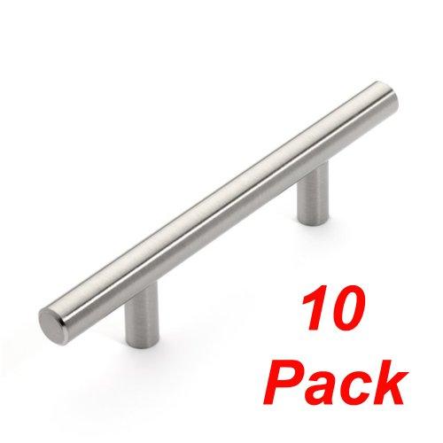 Dynasty Hardware P-1001-SN European Bar Style Cabinet Pull 5-3/4