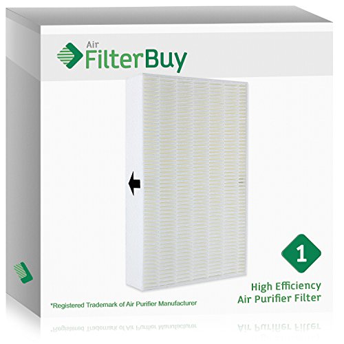 FilterBuy Honeywell R Filter, HRF-R3 HEPA Replacement Filters. Designed by FilterBuy to fit Honeywell HPA-090 Series, HPA-100 Series, HPA200 Series & HPA300 Series Air Cleaning Systems. (R Type Hepa Filter)