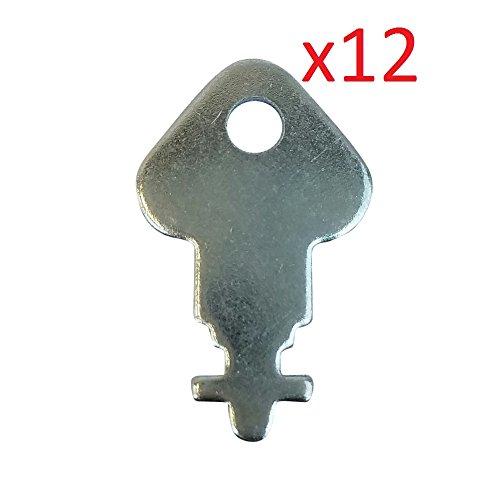 For Your Janitor Skeleton Key  K 3  Dispenser Key   12 Pack Of Keys   For Georgia Pacific Kimberly Clark Sca Tissue San Jamar Vondrehle Merfin And More