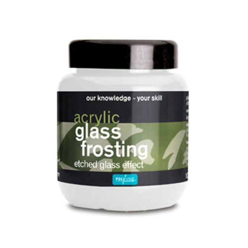 Polyvine Acrylic Glass Frosting for Etched Glass Effect (100ml)