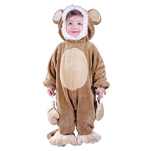 Baby/Toddler Cuddly Monkey Costume -