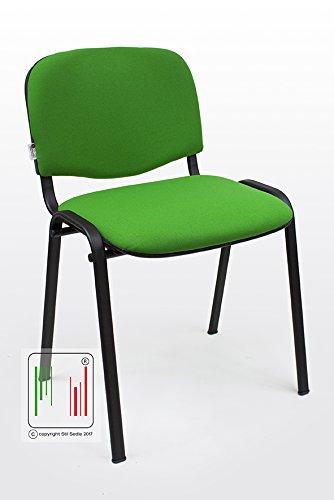 Sedie Ufficio Attesa.Stil Sedie Sedia Attesa Ufficio Sala Conferenze Poltrona Venere Tessuto 1 Im Uni 9175 2008 Colore Verde