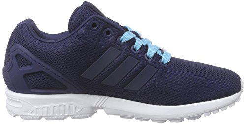 Adidas Flux Indigo Night Femme night Sneakers Glow blue Zx Indigo 6Zq1wr65
