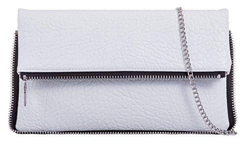 Mujer Material Handbags Blanco Para Sintético Cartera De Mano Girly qH0wvPa0