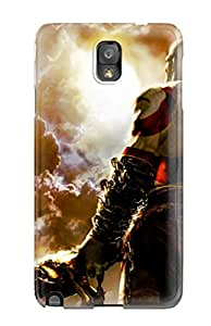 Flexible Tpu Back Case Cover For Galaxy Note 3 - God Of War Chains Of Olympus
