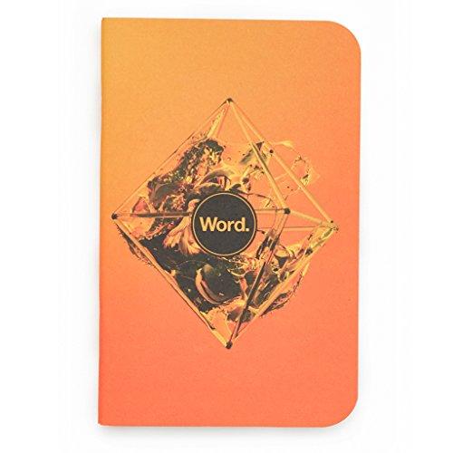 Word. Notebooks Artist - Justin Maller (3-pack)