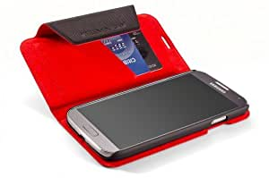 ELEMENT CASE - Soft -Tec Wallet for Samsung Galaxy S4 (Black/Red)