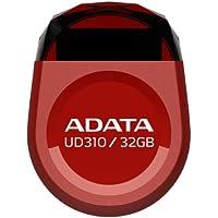 ADATA UD310 32GB USB 2.0 Jewel-Like Water Resistant Flash Drive , Red(AUD310-32G-RRD)