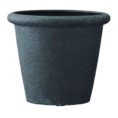 ビアス リムス ブラック80cm (直径80×高さ69cm)[ポリストーンライト 鉢] ノーブランド品 B0792FZ3NF