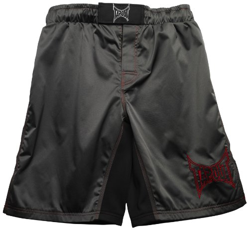 TapouT Fight Shorts, 36-Inch, Gray by TapouT