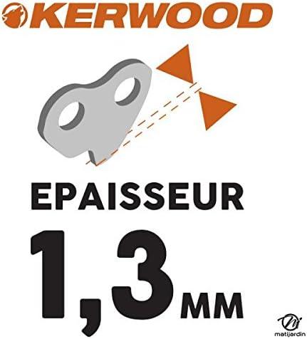 Kerwood Pi/èce neuve Chaine pour ECHO CS-285EVL 3//8LP 1,3 mm 47 maillons