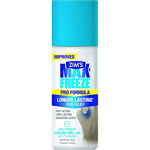 Formula Vanishing (Zim's - Max-Freeze Maximum Muscle and Joint Pain Relief Roll-On Formula Vanishing Scent - 3 oz. by Zims)
