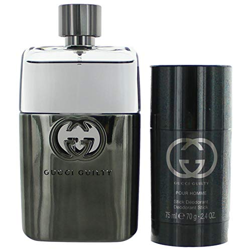 Gucci Guilty 2 Piece Gift Set for Men, 3.0 Ounce