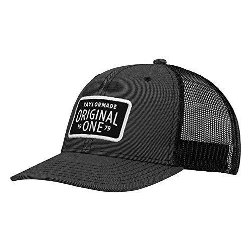 - TaylorMade 2019 Lifestyle Trucker Hat, Charcoal