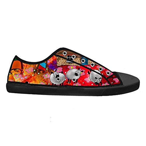 Dalliy Cute Color Sheep Mens Canvas shoes Schuhe Lace-up High-top Sneakers Segeltuchschuhe Leinwand-Schuh-Turnschuhe A