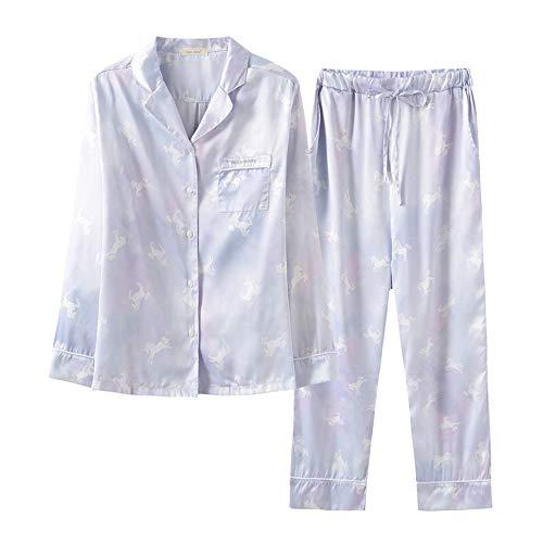 nbsp;pijamas Camisasedoso De Mmllse Chica A Servicio Purple Domicilio nbsp; Cuello nbsp;2 E5qqrw1I