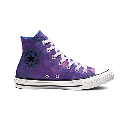 Converse Women's Chuck Taylor All Star Miss Galaxy Sneaker, Hyper Royal/Mod Pink/White, 9 M US (Converse Woman Taylor)