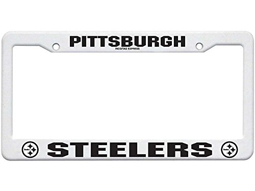 Rico Industries F2301 Plastic Frame - Pittsburgh Steelers,12