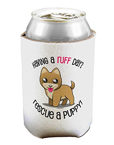 TooLoud Rescue A Puppy Can/Bottle Insulator Cooler - 2 Pack