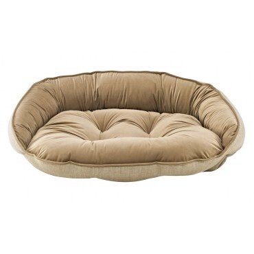 Bowsers Crescent Bed, Medium, Flax by Bowsers