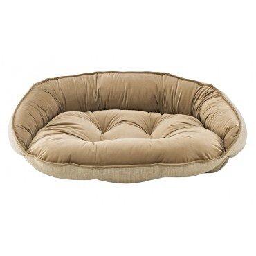 Bowsers Crescent Bed, Medium, Flax