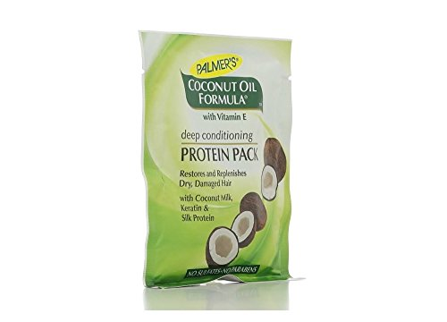 Protein Deep (Palmer's Coconut Oil Formula Deep Conditioning Protein Pack 2.10 oz (Pack of 7))
