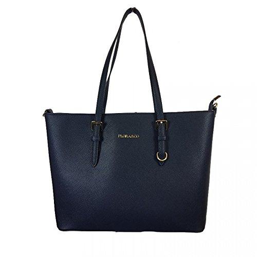 Flora & Co Women's Tote Bag Blue