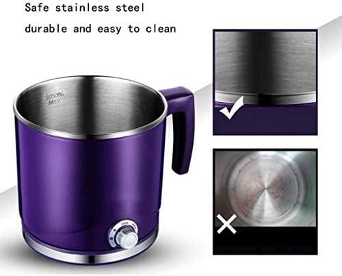 GZQDX Hot Pot électrique Poêle électrique Multifonction Cuisinière électrique étudiant Dortoir 2L à Vapeur en Acier Inoxydable