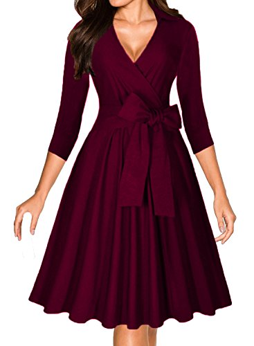 Womens Vintage Sleeve Cocktail Classical product image