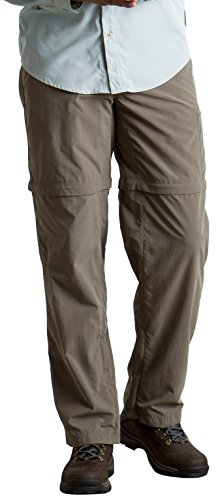 Ex Shorts Hiking Officio (ExOfficio Men's BugsAway Sol Cool Ampario Convertible Hiking Pants, Falcon, Size 34)