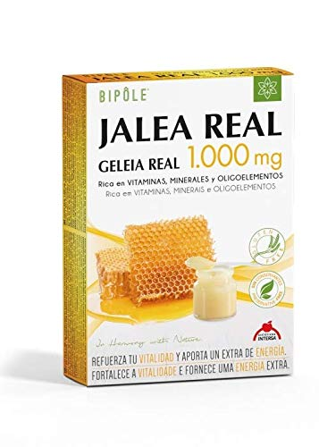 Bipole Jalea Real 20 ampollas de 1000 mg de Intersa: Amazon.es: Salud y cuidado personal